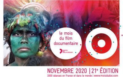 Le mois du documentaire arrive dans vos cinémas !